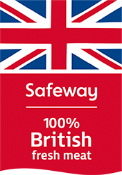 Safeway - 100% British fresh meat